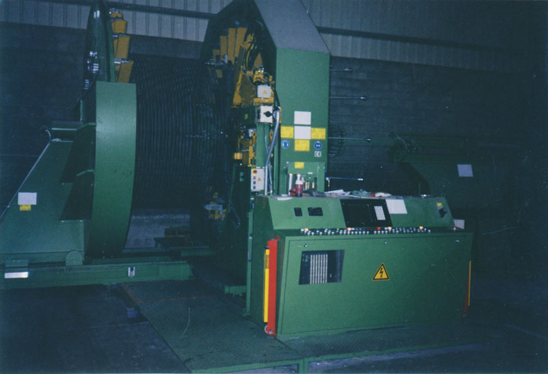 Μηχανή παραγωγής οπλισμού